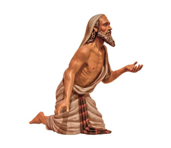 Figuras de Belén de Resina, Mendigo RS44